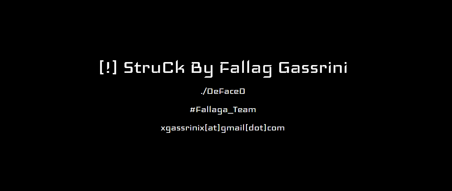 National Health Service (NHS) Quality Assurance UK Official Website Hacked By Tunisian Hacker Fallag Gassrini