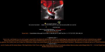 Indian Hackers Deface Pakistan Post Office Department & Pakistan People's Party Official Websites