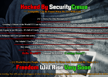 Over 440 Websites Hacked by the Hacktivist Group SecurityCrewz