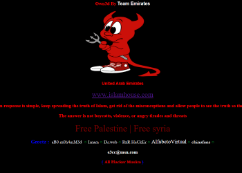 Over 100 Italian Websites Hacked By Team Emirates