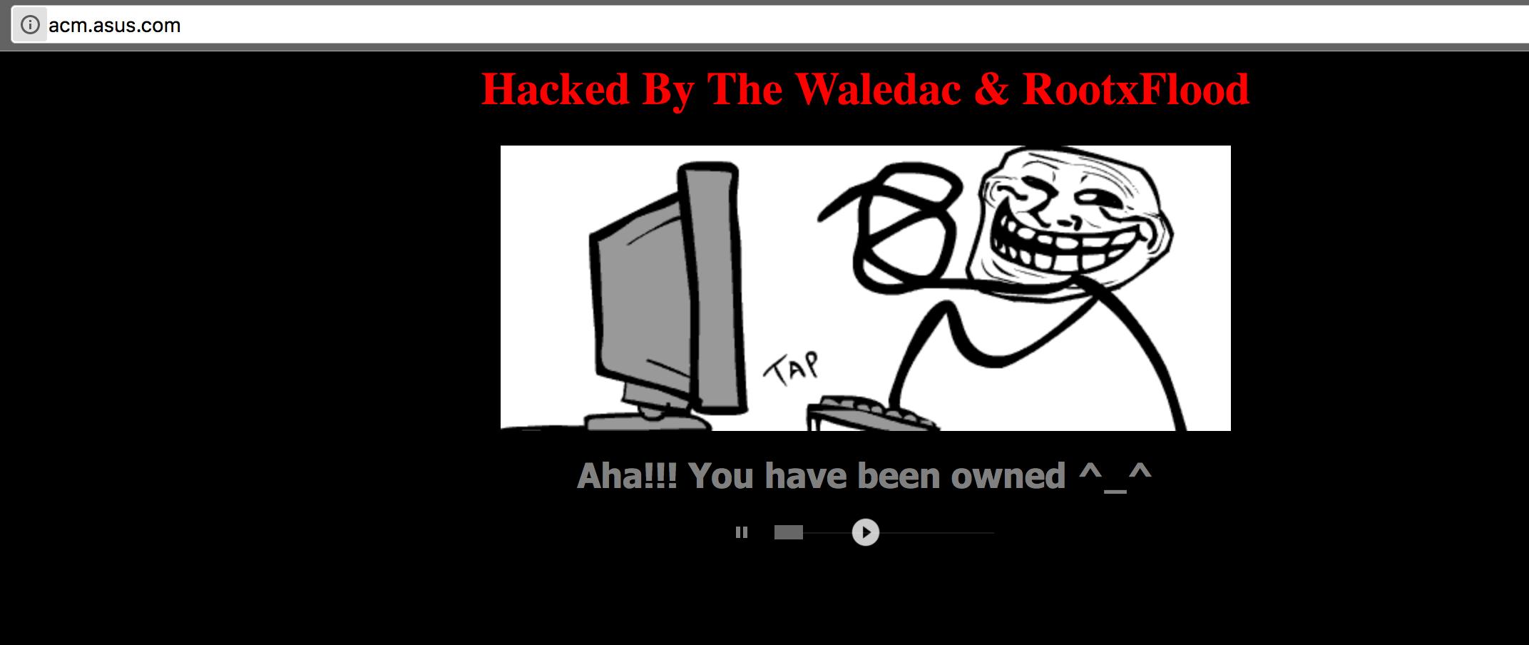 Asus ACM Backend We login Hacked