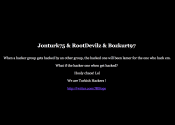 "WikiLeaks Website Hackers ""OurMine"" Official Website Get's Hacked By Turkish Hackers"