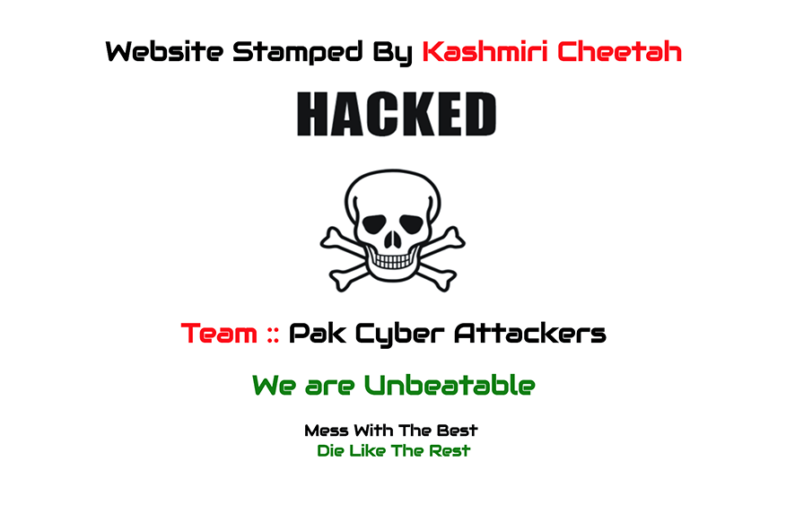 Indian Embassy Websites Gets Hacked and Defaced By Pakistani Hackers