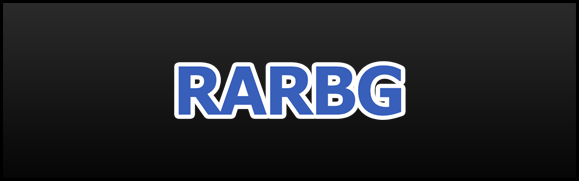 An image of the torrent website named RARBG.