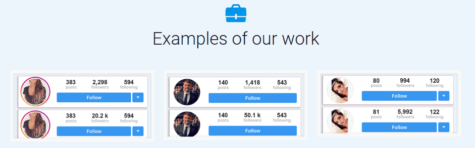 Increase your followers