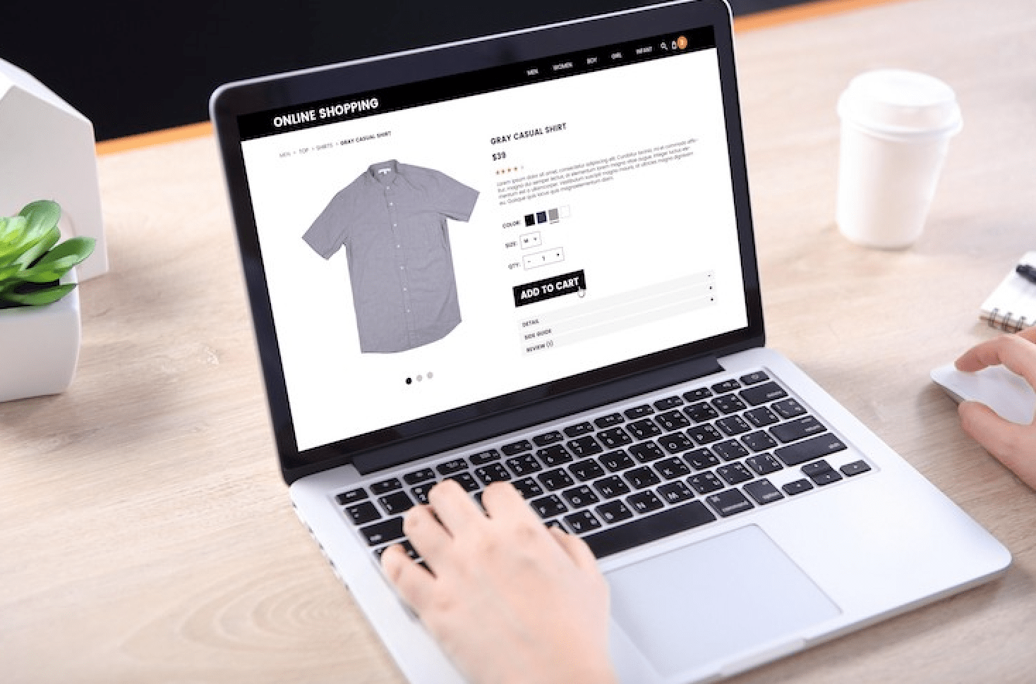 Online Menswear Like Differio Scaling with New Fashion Tech