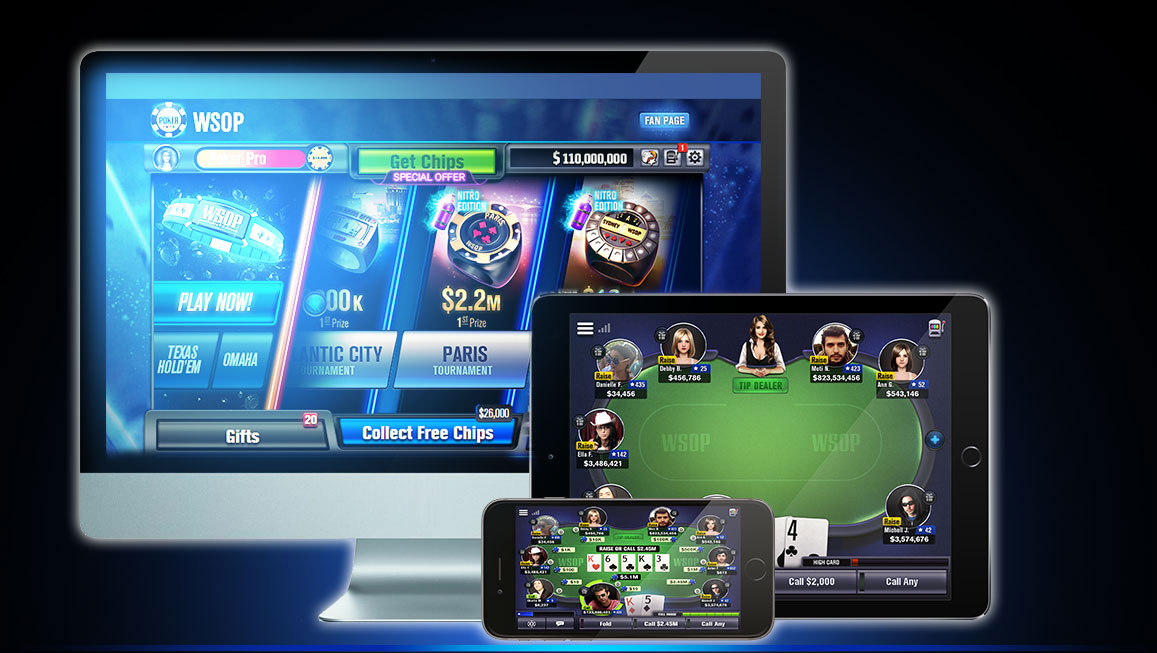 Texas Hold'em and other Online Games you can Play right now for Free