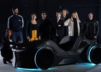 BigRep presents a conceptual 3D-printed electric car