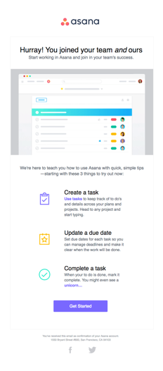 Make use of mobile-friendly emails