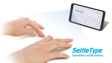 Selfie Type from Samsung
